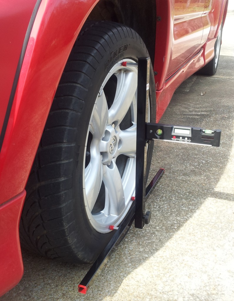 Wheel alignment tools for home pro diy alignment ridetechs bret voelkel talks about the quicktrick alignment system solutioingenieria Images