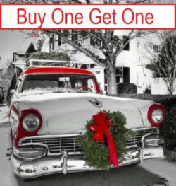 Holiday Buy One Get One – Your Choice *Valid While Supplies Last*